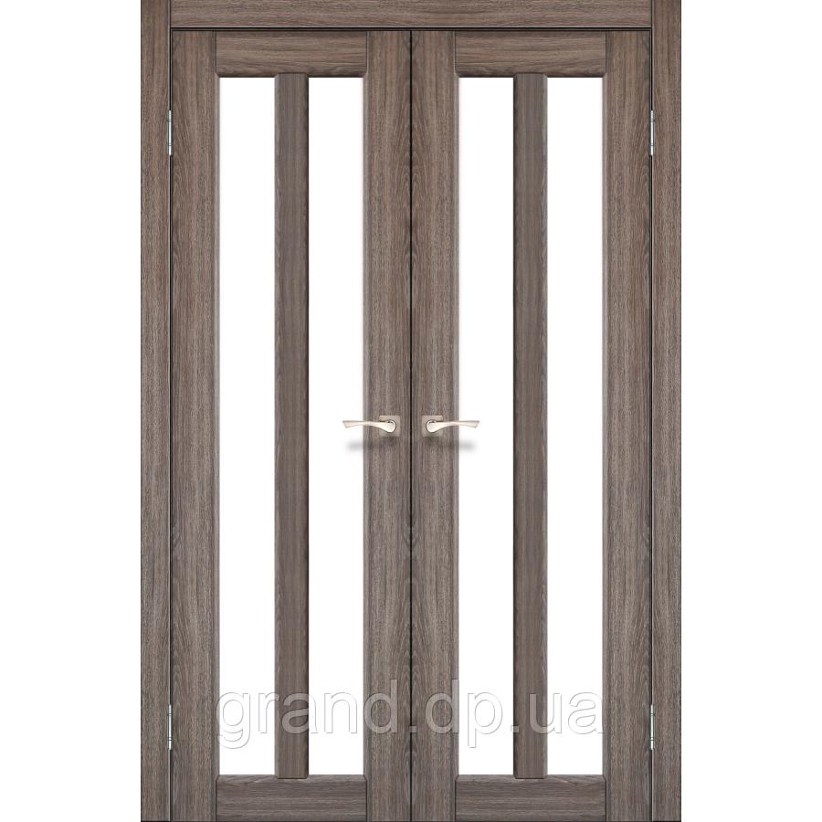 Двери межкомнатные Корфад TORINO Модель:TR-05 дуб грей c матовым стеклом