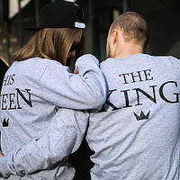 Cвитшоты the king-his queen