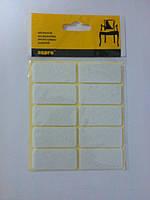 Войлочные подкладки для мебели, самоклеящиеся (белые).