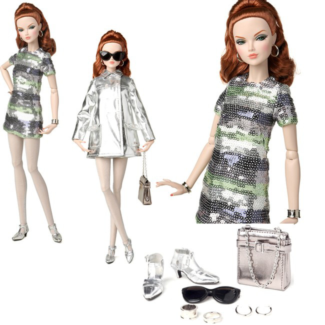 Коллекционная кукла Integrity Toy 2016 Silver Shine  Mallory Martin Dressed Doll The Fashion Teen Collection