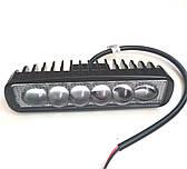 Led фара додаткового світла, ходові вогні 18 Вт Spot лінза/6749