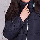 Женская куртка батальных размеров от производителя в Украине - модель весна 2018 - (кт-234), фото 5