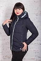 Женская куртка батального размера от производителя в Украине - модель весна 2018 - (арт кт-234)