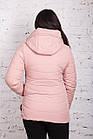 Женская куртка батальных размеров от производителя в Украине - модель весна 2018 - (кт-234), фото 4