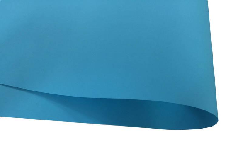 Дизайнерский картон Hyacinth, голубой, 120 гр/м2