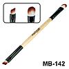 Кисть для жидких помад, консилеров и кремообразных теней maXmaR MB-142