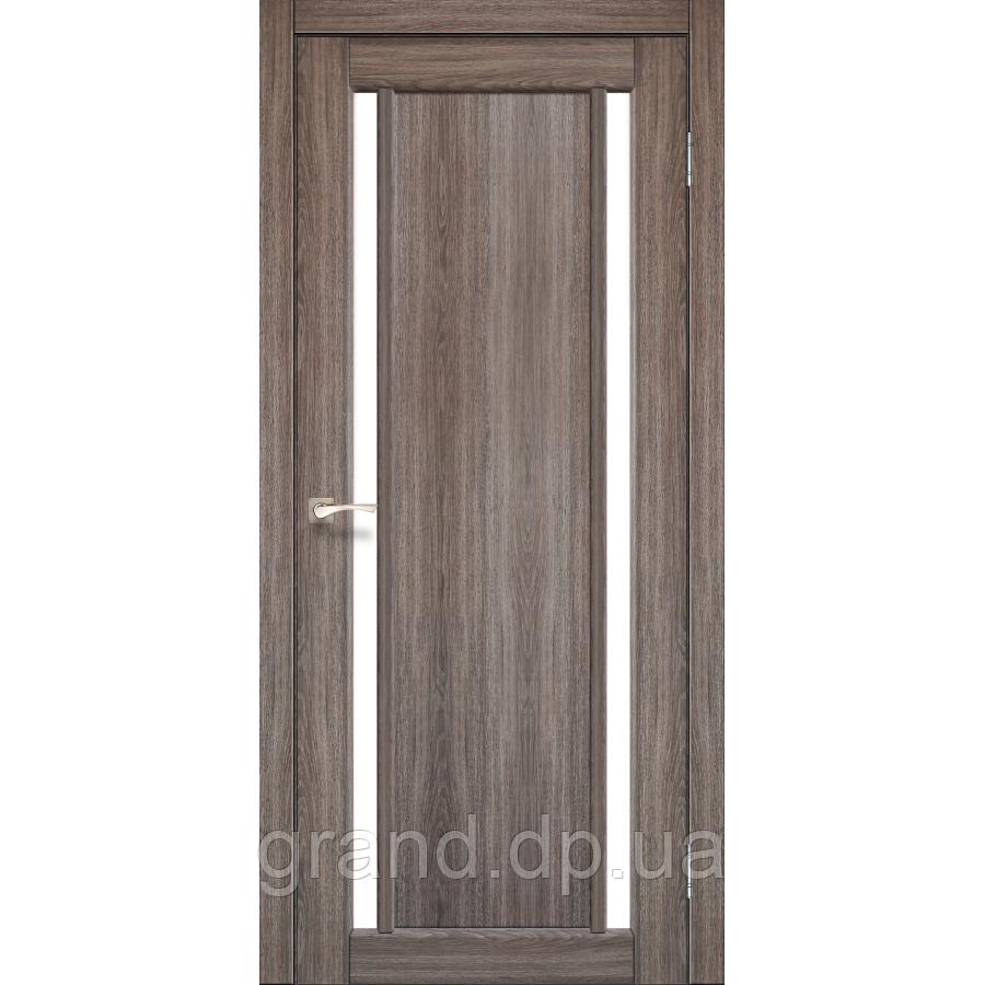 Двери межкомнатные  Корфад ORISTANO Модель:ОR-02 дуб грей c матовым стеклом