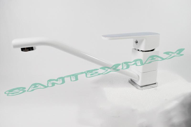 Смеситель для кухни Mixxus Missouri White 555 Белый