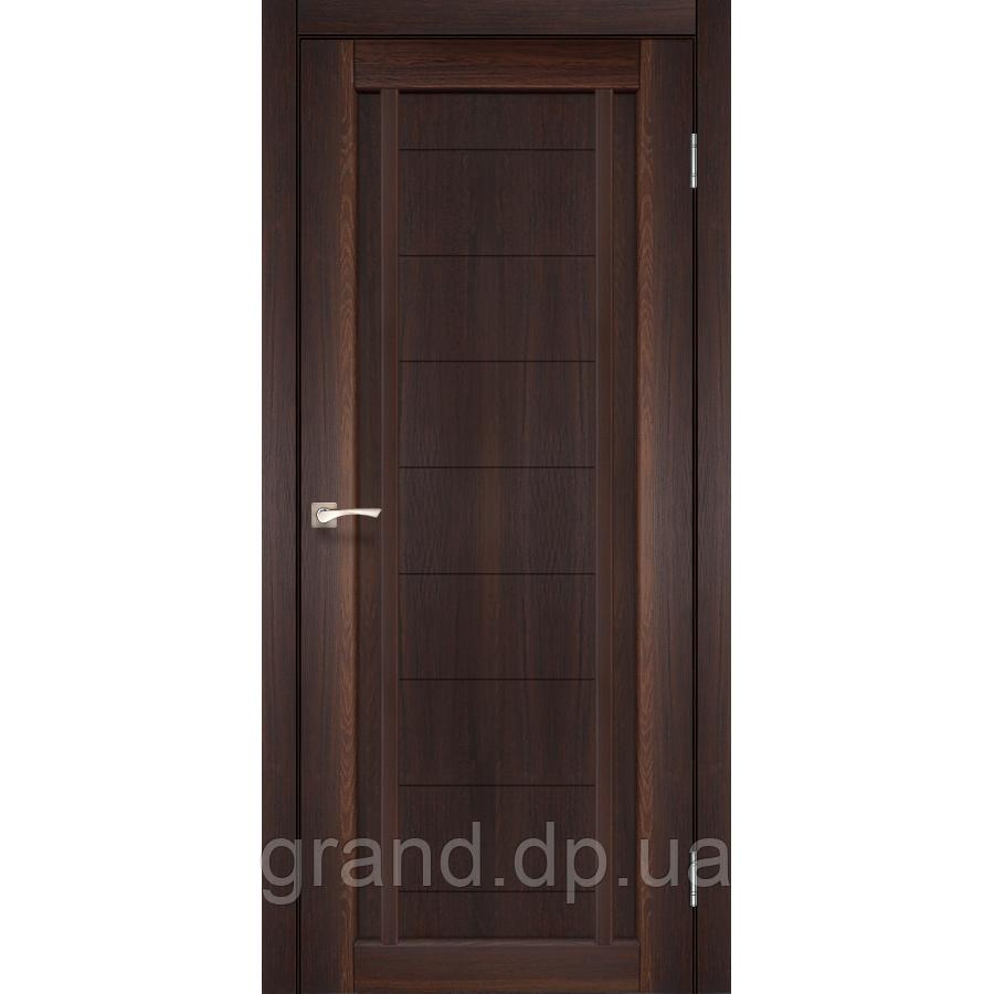 Двери межкомнатные  Корфад ORISTANO Модель:ОR-02 цвет орех с бронзовым стеклом