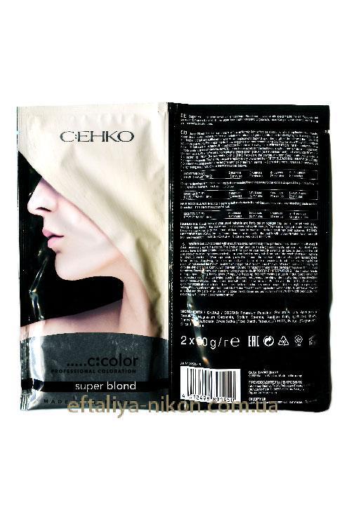 Блонд-порошок осветляющий порционный C:EHKO
