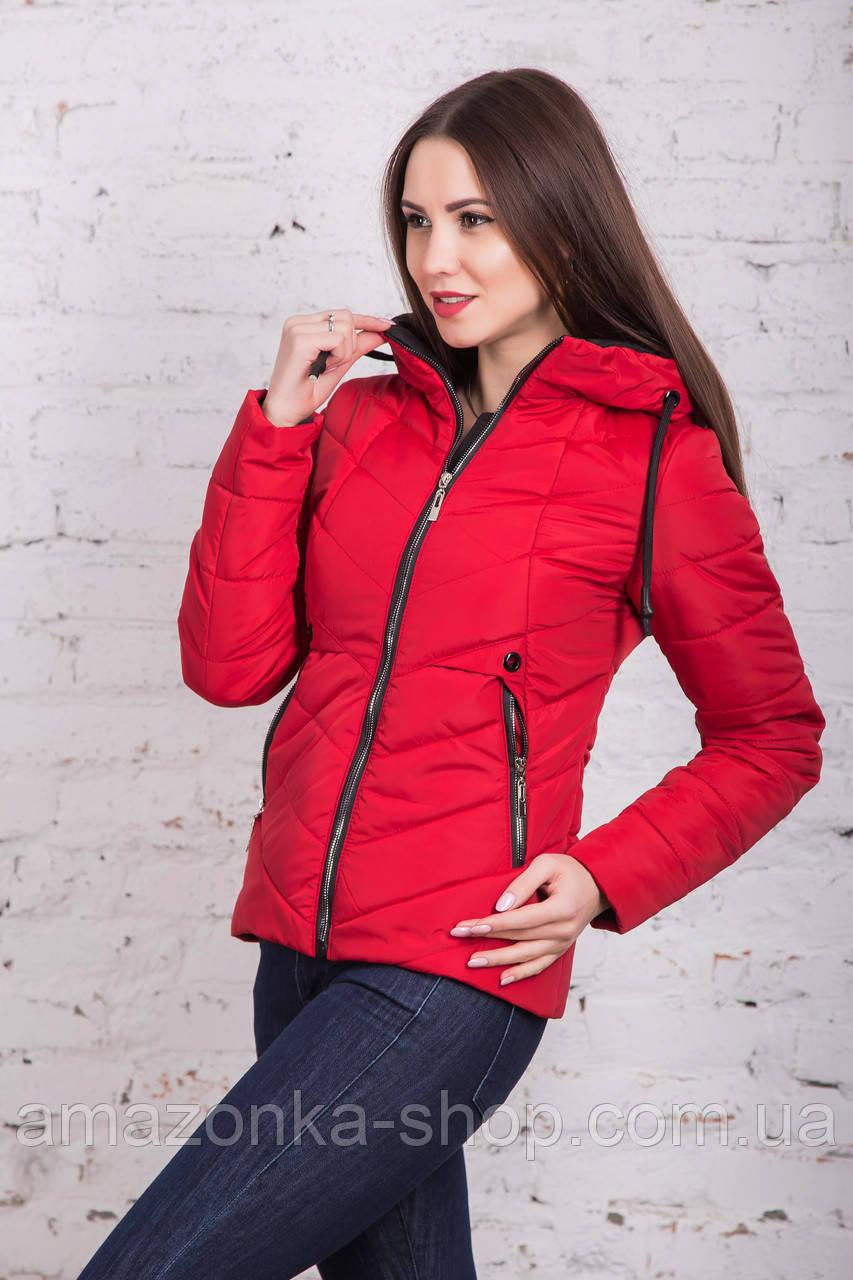 Женская брендовая куртка - модель весны 2018 - (кт-248)