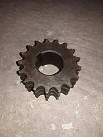 Цепное колесо, звездочка 3-х рядная, 17 зуб. шпонка 0203436810, 4032801030 Fortschritt (Фортшрит) Е-281, М-125