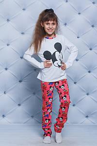 Пижама со штанами для девочки Микки