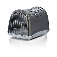 Переноска собак и кошек, Imac ЛИНУС КАБРИО (LINUS CABRIO) пластик,темно-серый | 4.12кг | 50*32*34,5см