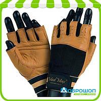 Перчатки для фитнеса Mad Max CLASSIC MFG-248 Brown
