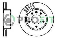 Передние тормозные диски Opel Omega A Омега А