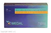 ПАКЕТЫ СТЕРИЛИЗАЦИОННЫЕ Medal - 200 шт/уп, 90 x 135