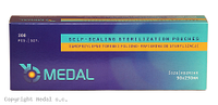 ПАКЕТЫ СТЕРИЛИЗАЦИОННЫЕ Medal - 200 шт/уп, 90 x 230