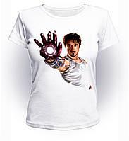 Футболка женская M GeekLand Железный Человек Iron Man Stark рука Art IM.01.011