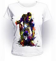 Футболка женская M GeekLand Железный Человек Iron Man без маски art IM.01.013
