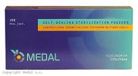 ПАКЕТЫ СТЕРИЛИЗАЦИОННЫЕ Medal - 200 шт/уп, 135 x 250