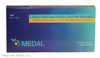 ПАКЕТЫ СТЕРИЛИЗАЦИОННЫЕ Medal - 200 шт/уп, 190 x 330