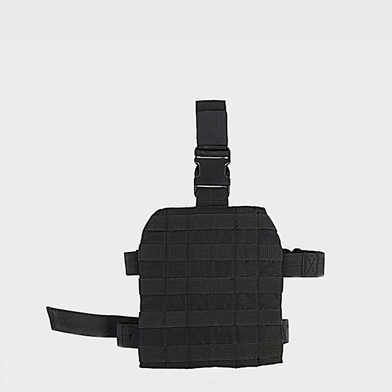 Панель MOLLE набедренная №1 - чёрная