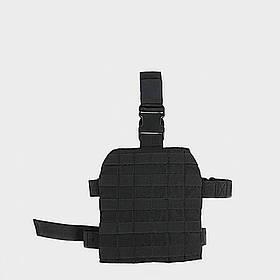 Панель MOLLE набедренная - чёрная   LA-M11-PO-01