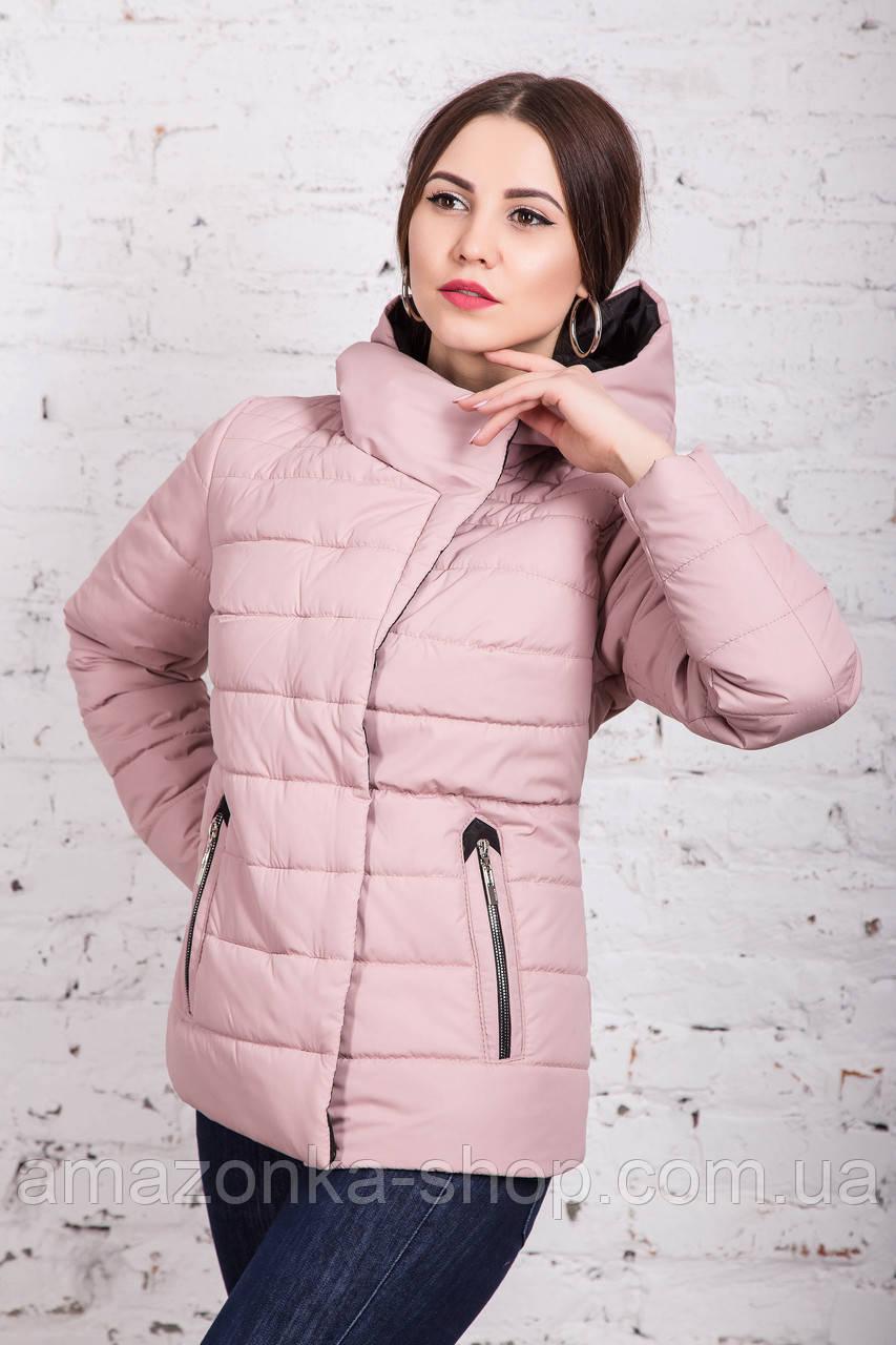 Весенняя куртка для девушек - весенняя модель 2018 - (кт-255)