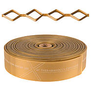 Лента-эспандер CLX™ с последовательными петлями 22 м (коробка-диспенсер) Золотая / Предельной плотност (12784), фото 2