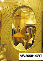 Зеркало настенное ламинированная абака
