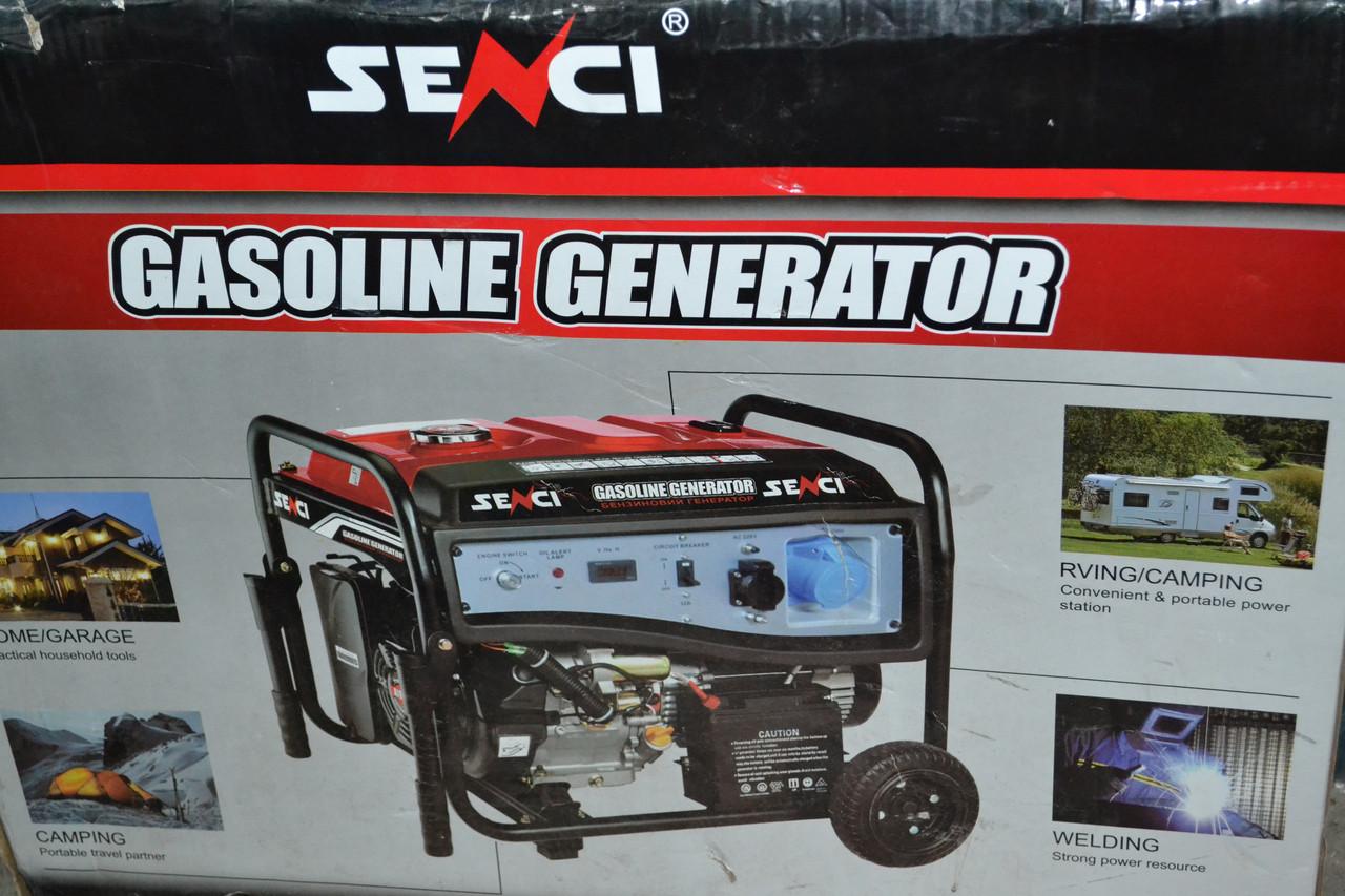 Генератор бензиновий Senci SC6000-M (5,0-5,5 кВт)
