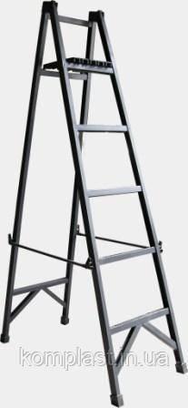 Лестница стремянка диэлектрическая с симметричной опорой 2,5м Телеком
