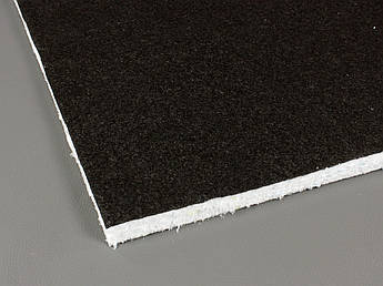Шумоизоляция квартиры (стен и потолка), лист 1.2м x 0.6м x 25мм, черный