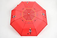 Красный женский зонтик