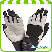 Перчатки для фитнеса Mad Max PROFESSIONAL MFG-269 White