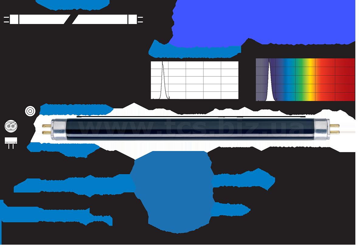 Купить в Одессе TL 8W/08 | BLB F8 T5 PHILIPS, цены, магазины, доставка.