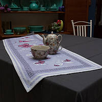 Раннер гобеленовый Италия Emily Home Фиолетовая бабочка 45х140 см