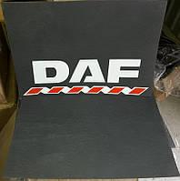 Брызговики ГРУЗОВЫЕ 2шт! DAF ДАФ Задние - 60 см Х 40 см.
