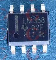 Операционный усилитель TI LM358DR SOP8