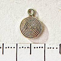 [8мм] Фурнитура Подвеска Гипнотическая спираль