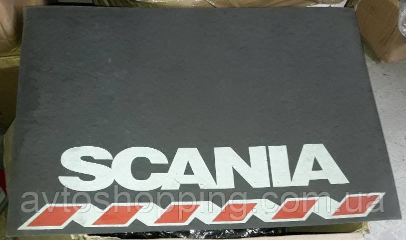 Брызговики ГРУЗОВЫЕ 2шт! Scania (Скания) Задние передние - 47 см Х 33 см.