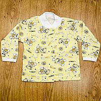 Кофточка ясельная MirAks TN-4893-08 Yellow (Желтый/кулир)