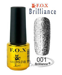 ГЕЛЬ ЛАК F.O.X BRILLIANCE 6 мл