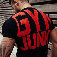 Мужская футболка для фитнеса GYM JUNKY, черная