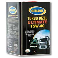 Масло моторное GEMA OIL TURBO DIESEL ULTIMATE 15W-40 (20л)