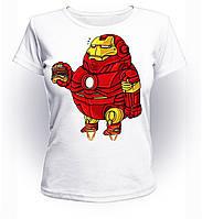 Футболка женская S GeekLand Железный Человек Iron Man fat Art IM.01.005
