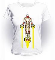 Футболка женская S GeekLand Железный Человек Iron Man fly Art IM.01.007