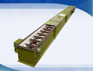 Скребковый транспортер ширина короба 200 мм, до 50 т\час