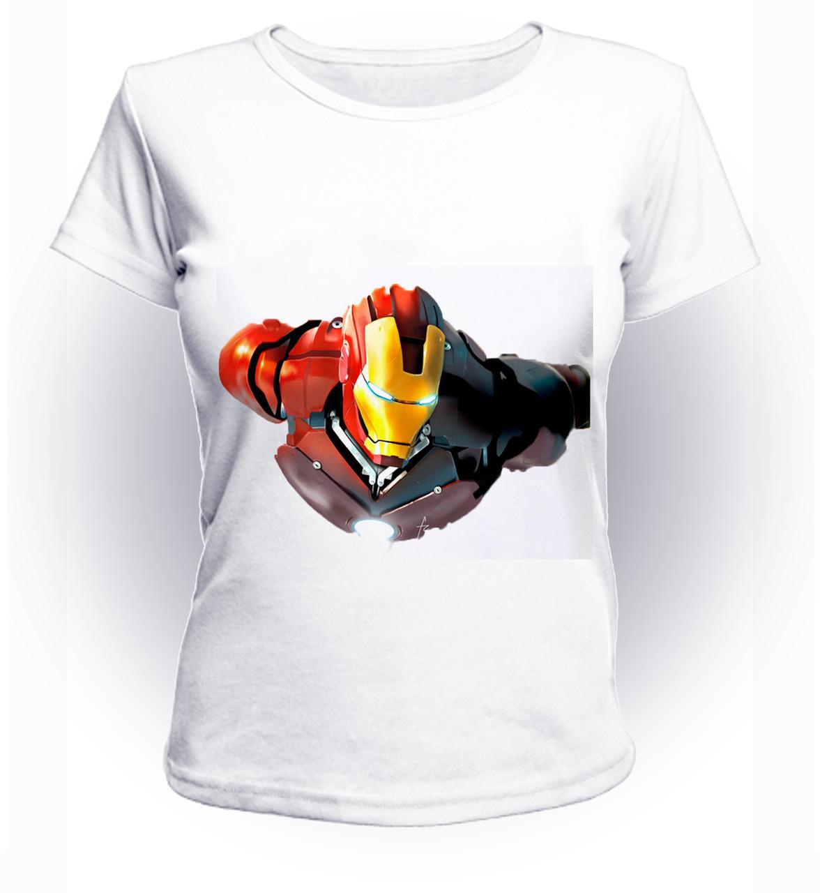Футболка женская S GeekLand Железный Человек Iron Man  art IM.01.065
